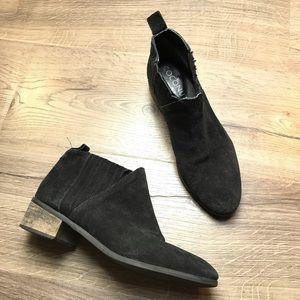 Coconuts Matisse el torone suede ankle boots black